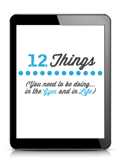 12 Things Free E-book