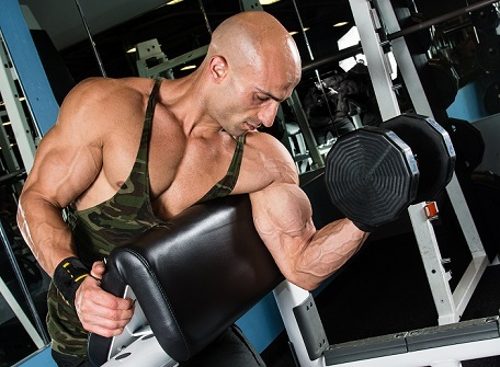 Don't do the same arm exercises