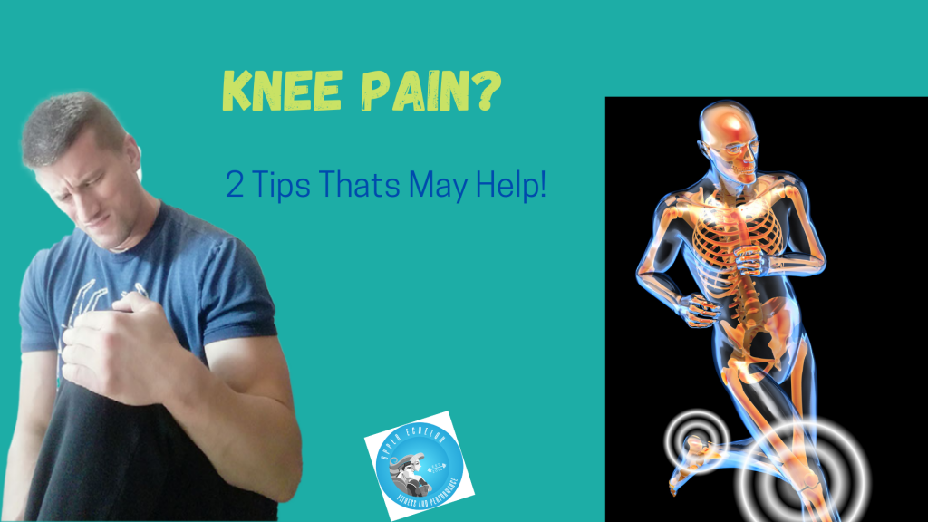 Tricks to help with achy knees